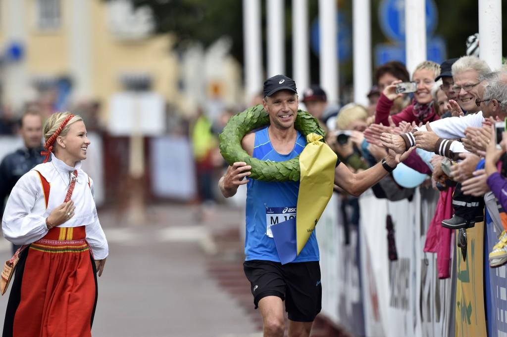 Jonas Buud - vinnare av Sveriges största tävling i ultralöpning