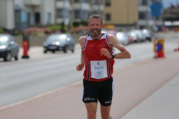 Joacim Martinsson på SM 100 km