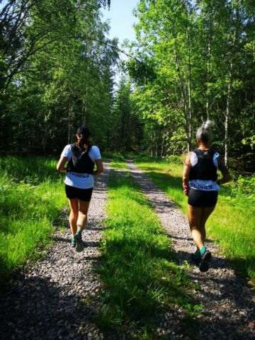 Grusväg Anna-Karin Vera Göta Kanal Run