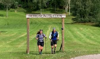 Spurten uppför sista backen! Foto: Bo Andersson.