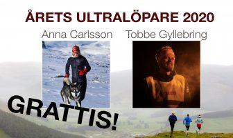 Anna och Tobbe årets ultralöpare 2020